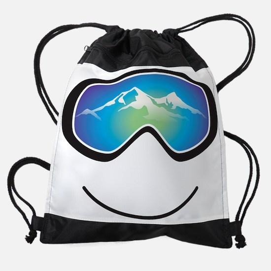 goggle black.png Drawstring Bag