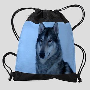 a zz leash out Cosmo le cr en cr ca Drawstring Bag