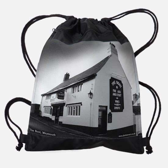 The Boot Drawstring Bag