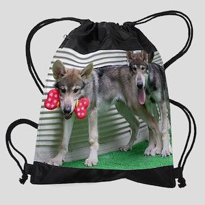 a 54 en for mousepad Drawstring Bag