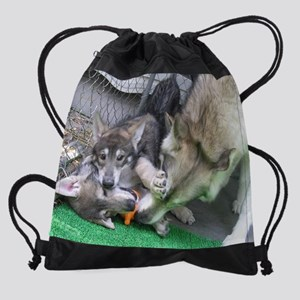 a 60 EN cr mousepad Drawstring Bag