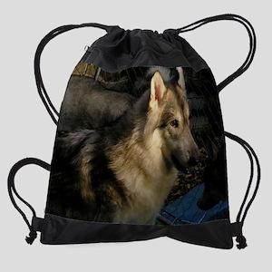a 66 EN cr for mousepad Drawstring Bag