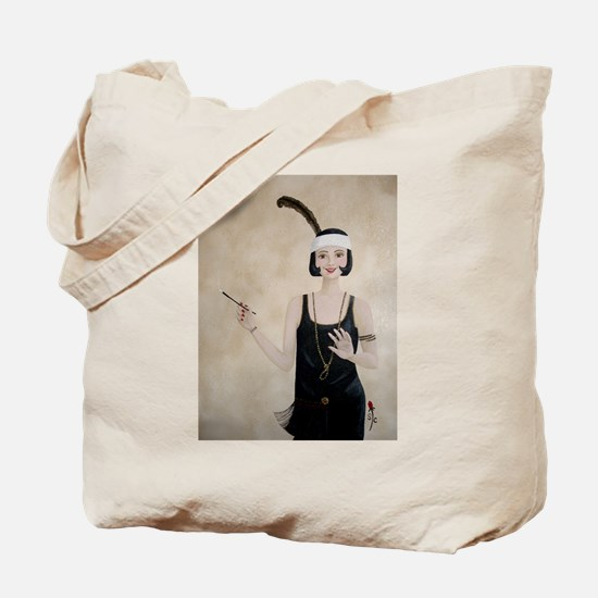 StephanieAM Flapper Tote Bag