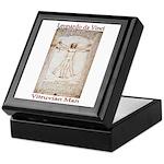 Vitruvian Man Keepsake Box