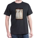 Vitruvian Man Dark T-Shirt