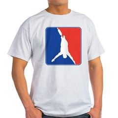 Bungee Jumping Ash Grey T-Shirt
