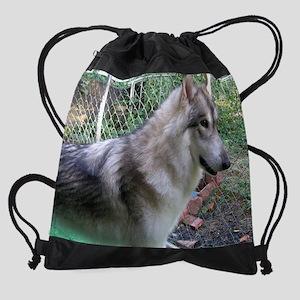 a q 56 en for calendar Drawstring Bag