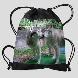 b Cosmo and Betty cr en Drawstring Bag