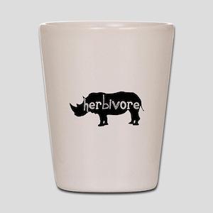 Rhino - Herbivore Shot Glass