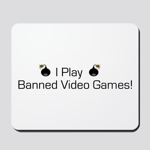 Banned Video Games! Mousepad