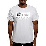Banned Books! Ash Grey T-Shirt