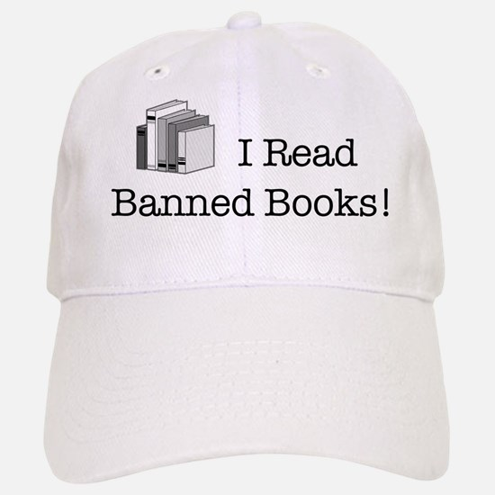 Banned Books! Baseball Baseball Cap