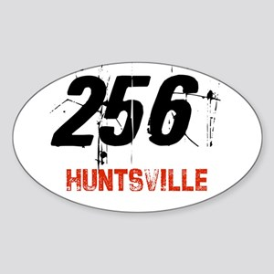256 Oval Sticker
