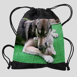 mousepad Cosmo and Jack cr en Drawstring Bag
