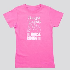 This Girl Loves Horse Riding T Shirt T-Shirt