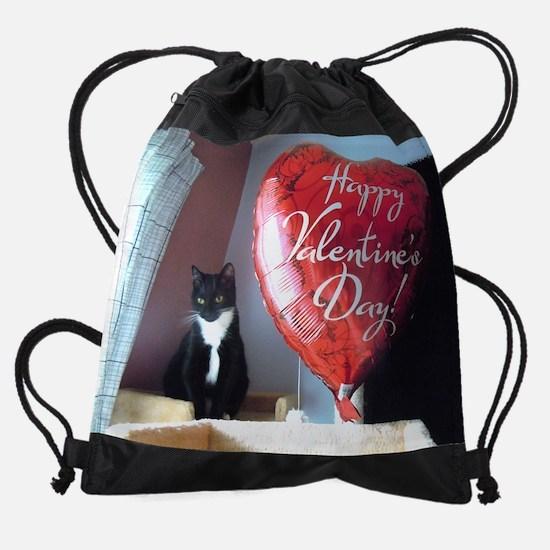 February.jpg Drawstring Bag