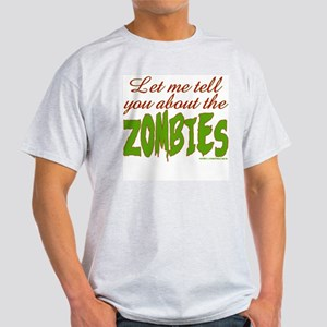 About The ZOMBIES Ash Grey T-Shirt