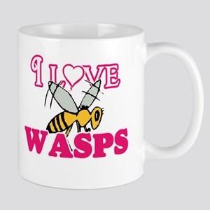 I Love Wasps Mugs
