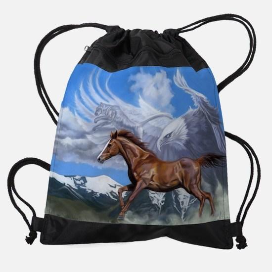 cougar.jpg Drawstring Bag