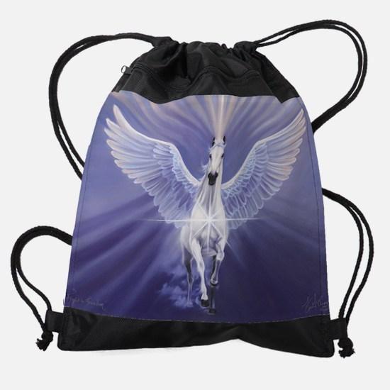 flight.jpg Drawstring Bag