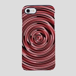 Circles of Marsala iPhone 7 Tough Case