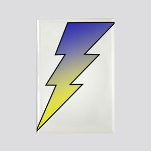 The Lightning Bolt 3 Shop Rectangle Magnet