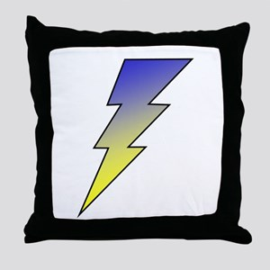 The Lightning Bolt 3 Shop Throw Pillow