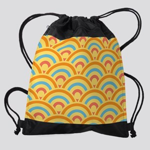 Mostly Sunshine Risebow King Duvet. Drawstring Bag