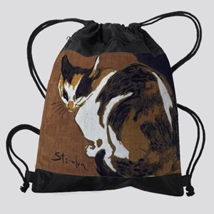 Cats in Art Painting Drawstring Bag