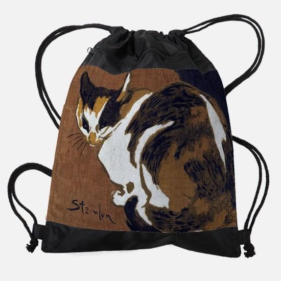 Cats in Art Painting Drawstring Bag