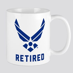 USAF Retired 11 oz Ceramic Mug