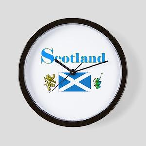 Scotland Wall Clock