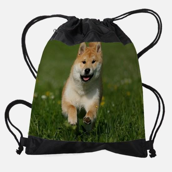 cal_shiba_jan.jpg Drawstring Bag
