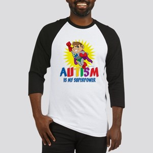 Autism Is My Superpower Baseball Jersey