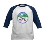 KERRY BLUE TERRIER Kids Baseball Jersey