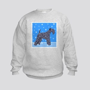 KERRY BLUE TERRIER Kids Sweatshirt