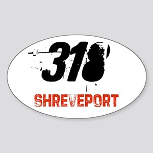 318 Oval Sticker