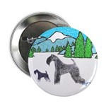 "KERRY BLUE TERRIER 2.25"" Button (100 pack)"