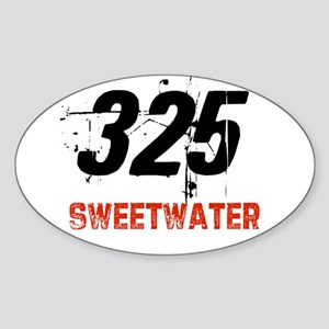 325 Oval Sticker