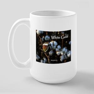 White Gold Large Mug
