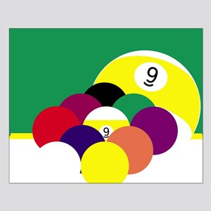 9 Ball 5 Small Poster