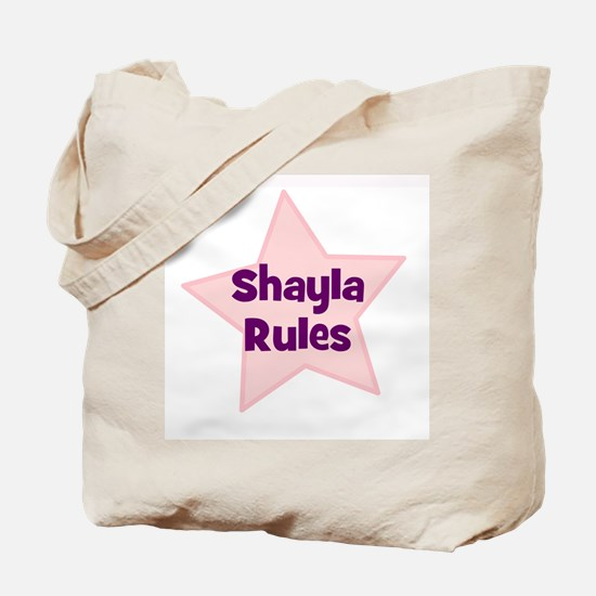 Shayla Rules Tote Bag