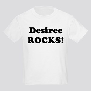Desiree Rocks! Kids T-Shirt