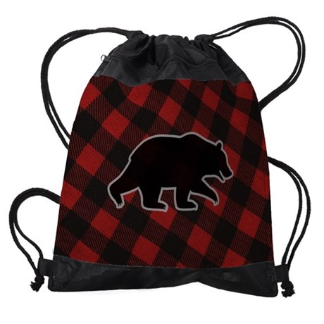 grizzlymousepad.png Drawstring Bag