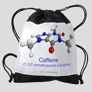 caffeine-plain Drawstring Bag