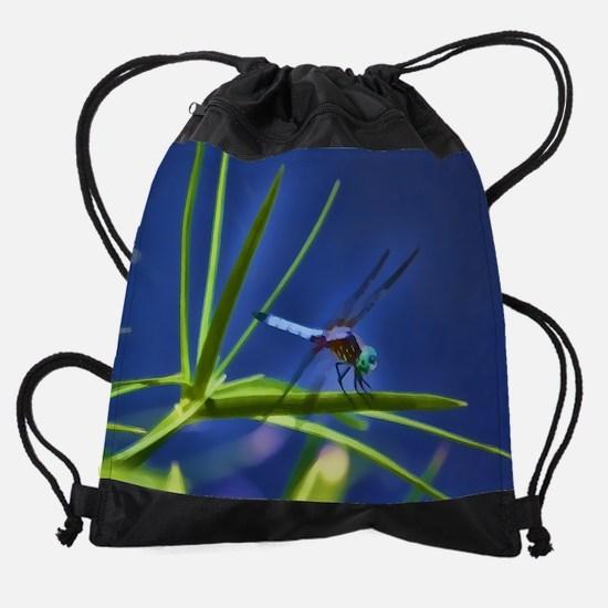 Dragonfly - Brushed Drawstring Bag