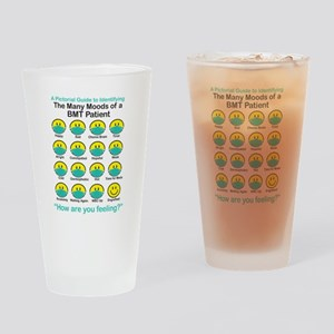 Many Moods Drinking Glass