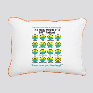 Many Moods Rectangular Canvas Pillow