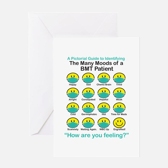 Many Moods Greeting Card