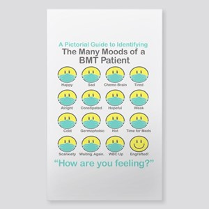 Many Moods Sticker (Rectangle)